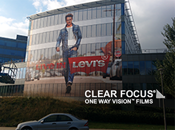 ClearFocus film on building